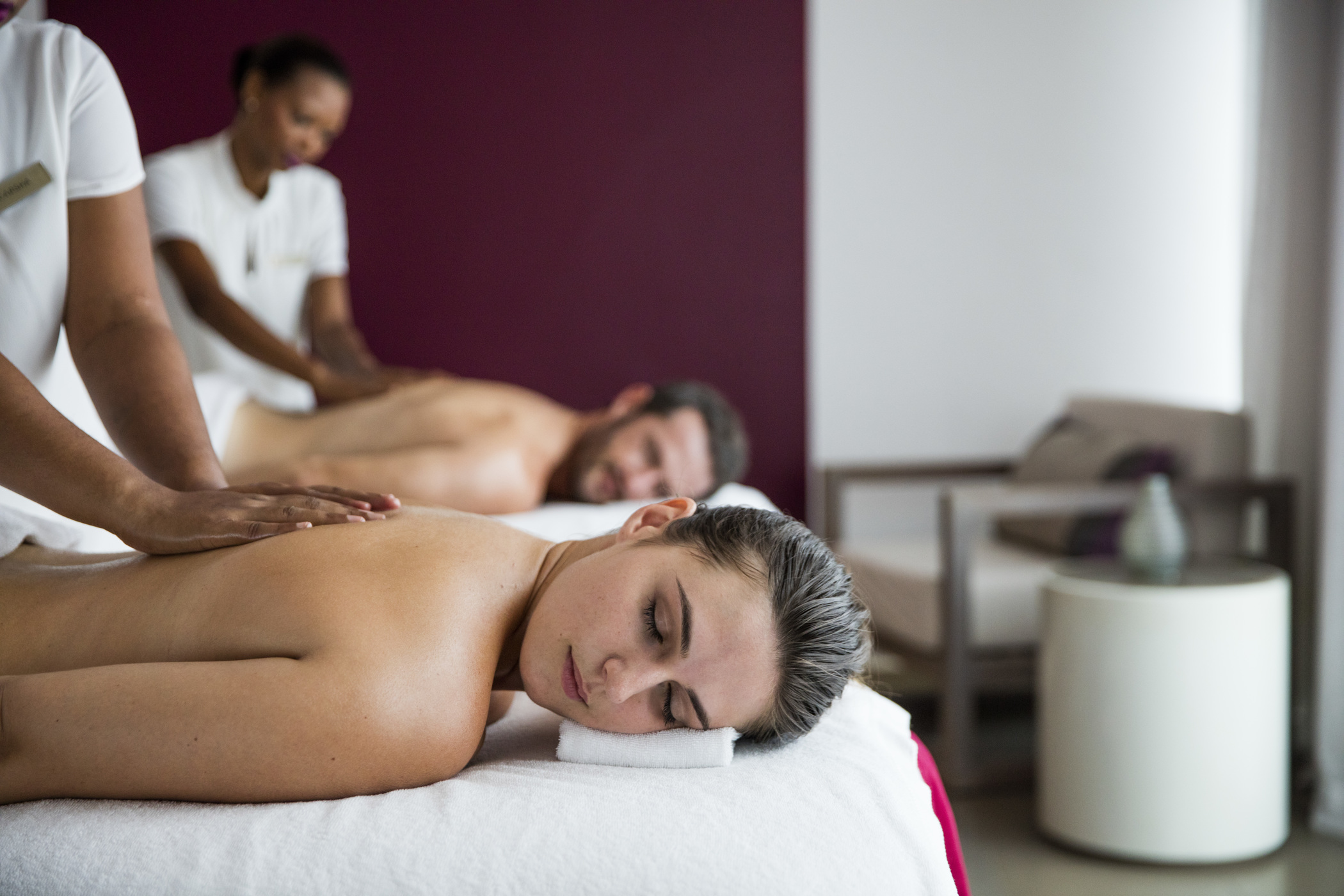 Massage at Cinq Mondes Spa