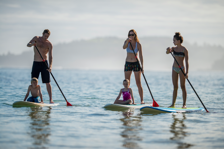 Stand up paddle boarding Mauritius