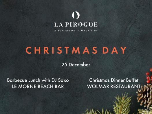 Christmas Day Feasts at La Pirogue