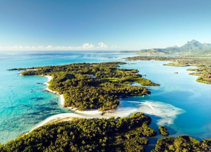 Island hopping in Mauritius